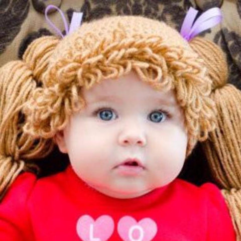 Cabbage Patch Crochet Hat  866683cc230