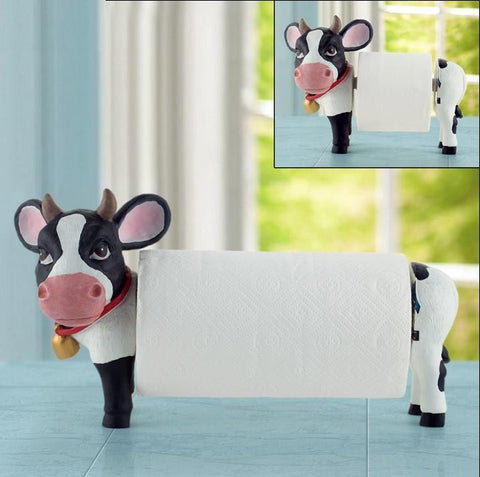 Cow Toilet Paper Holder Novelty Gift Gallery