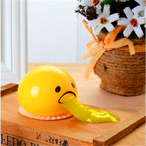 Creative Prank Gifts™ Vomiting Egg Toy