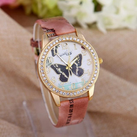 Adorable's™ Butterfly Watch