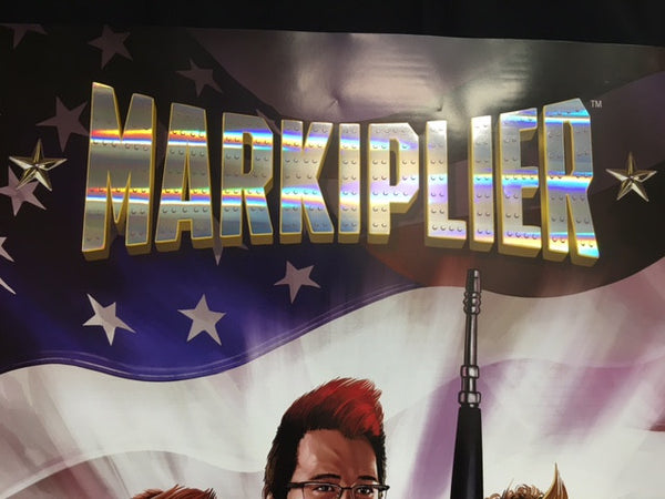 Markiplier First Defense (EXCLUSIVE LIMITED EDITION POSTER)