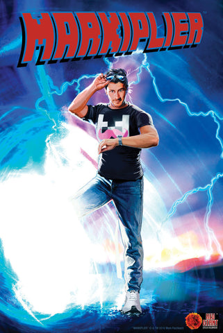 Markiplier Back to Future (EXCLUSIVE LIMITED EDITION POSTER)