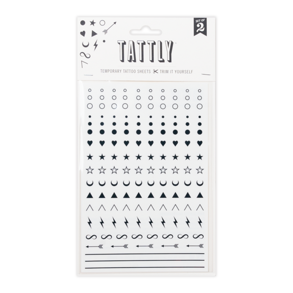 Facial Expression Tattly Sheet