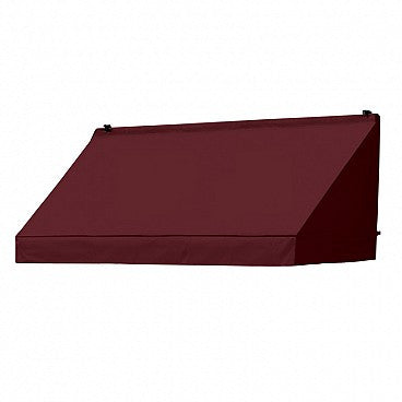 6-Ft. Classic Window Awning-Burgundy