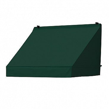 4-Ft.Classic Window Awning-Forest Green