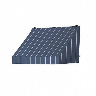 4-Ft.Classic Window Awning-Tuxedo Striped