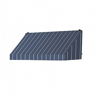 6-Ft. Classic Window Awning-Tuxedo Striped