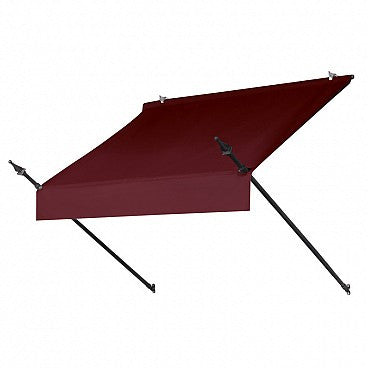 4-Ft. Designer Window Awning-Burgundy
