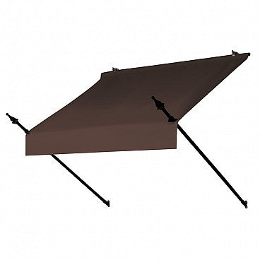 4-Ft. Designer Window Awning-Cocoa