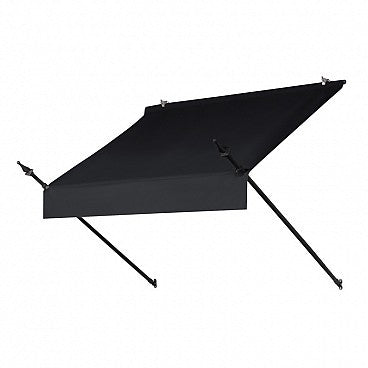 4-Ft. Designer Window Awning-Ebony