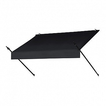 6-Ft. Designer Window Awning-Ebony