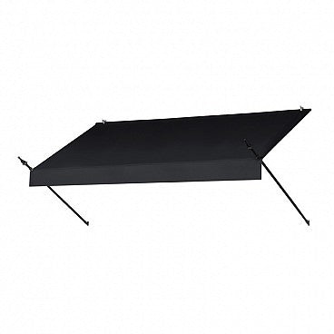 8-Ft. Designer Window Awning-Ebony