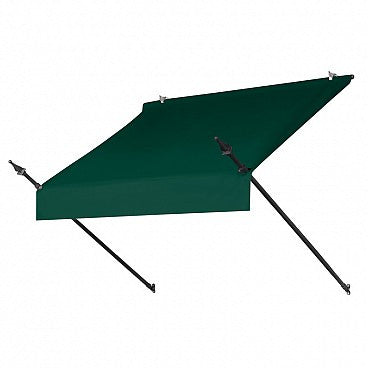 4-Ft. Designer Window Awning-Forest Green