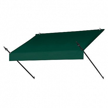 6-Ft. Designer Window Awning-Forest Green