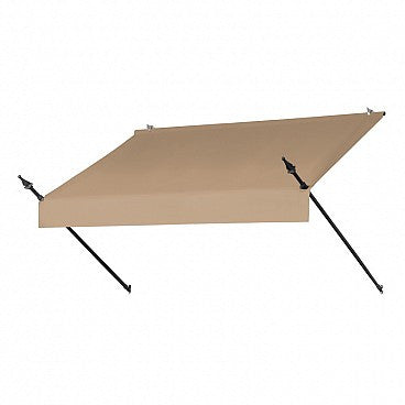 6-Ft. Designer Window Awning-Sand