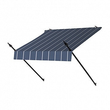 4-Ft. Designer Window Awning-Tuxedo Striped