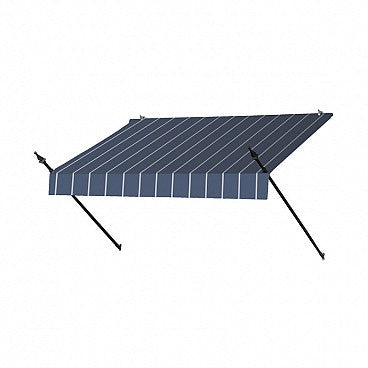 6-Ft. Designer Window Awning-Tuxedo Striped