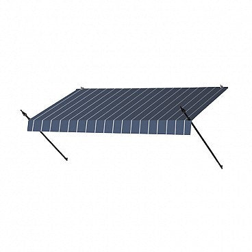 8-Ft. Designer Window Awning-Tuxedo Striped