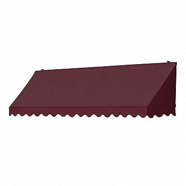 8-Ft. Traditional Window Awning-Burgundy