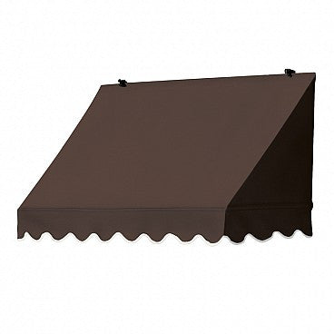 4-Ft. Traditional Window Awning-Cocoa