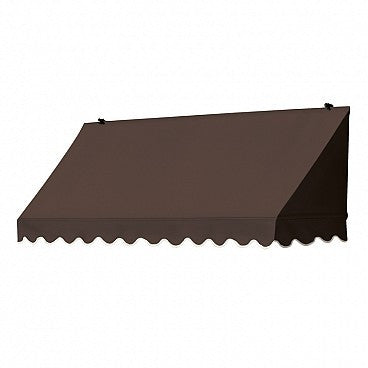 6-Ft. Traditional Window Awning-Cocoa
