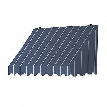 4-Ft. Traditional Window Awning-Tuxedo Striped