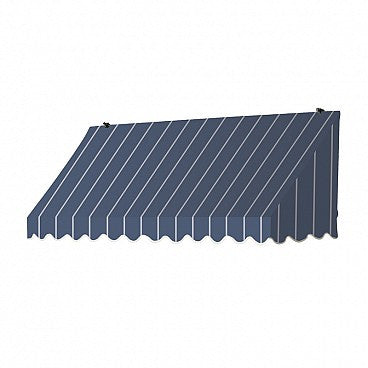 6-Ft. Traditional Window Awning-Tuxedo Striped