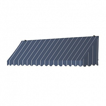 8-Ft. Traditional Window Awning-Tuxedo Striped