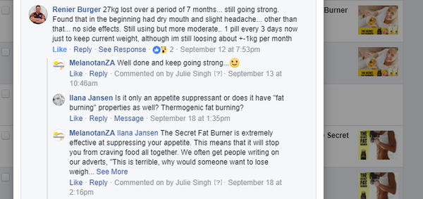 The Secret Fat Burner Success Story