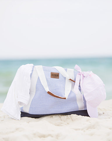ROSIE GETAWAY NAUTICAL TOTE (NAVY)