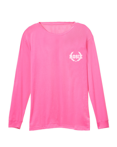 Long Sleeve Rosie Tee (Lollipop)