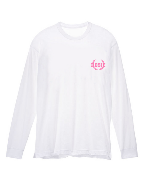 Long Sleeve Rosie Tee (Rosebud)
