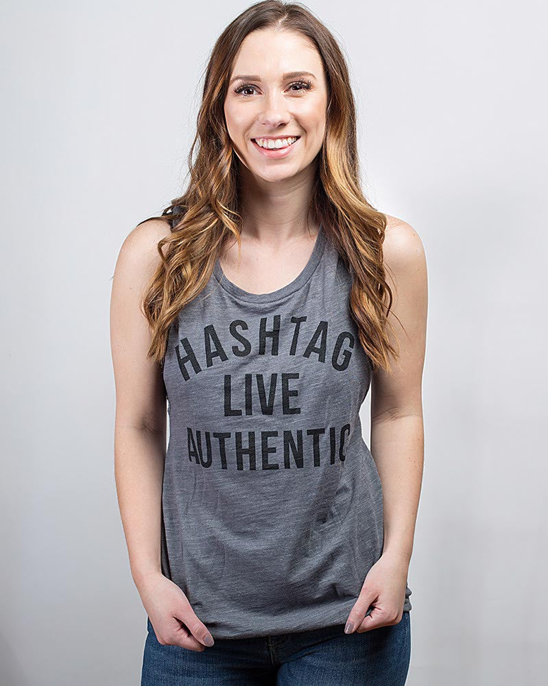 Live Authentic Tank