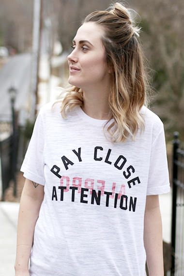 Aleppo : Pay Close Attention Tees