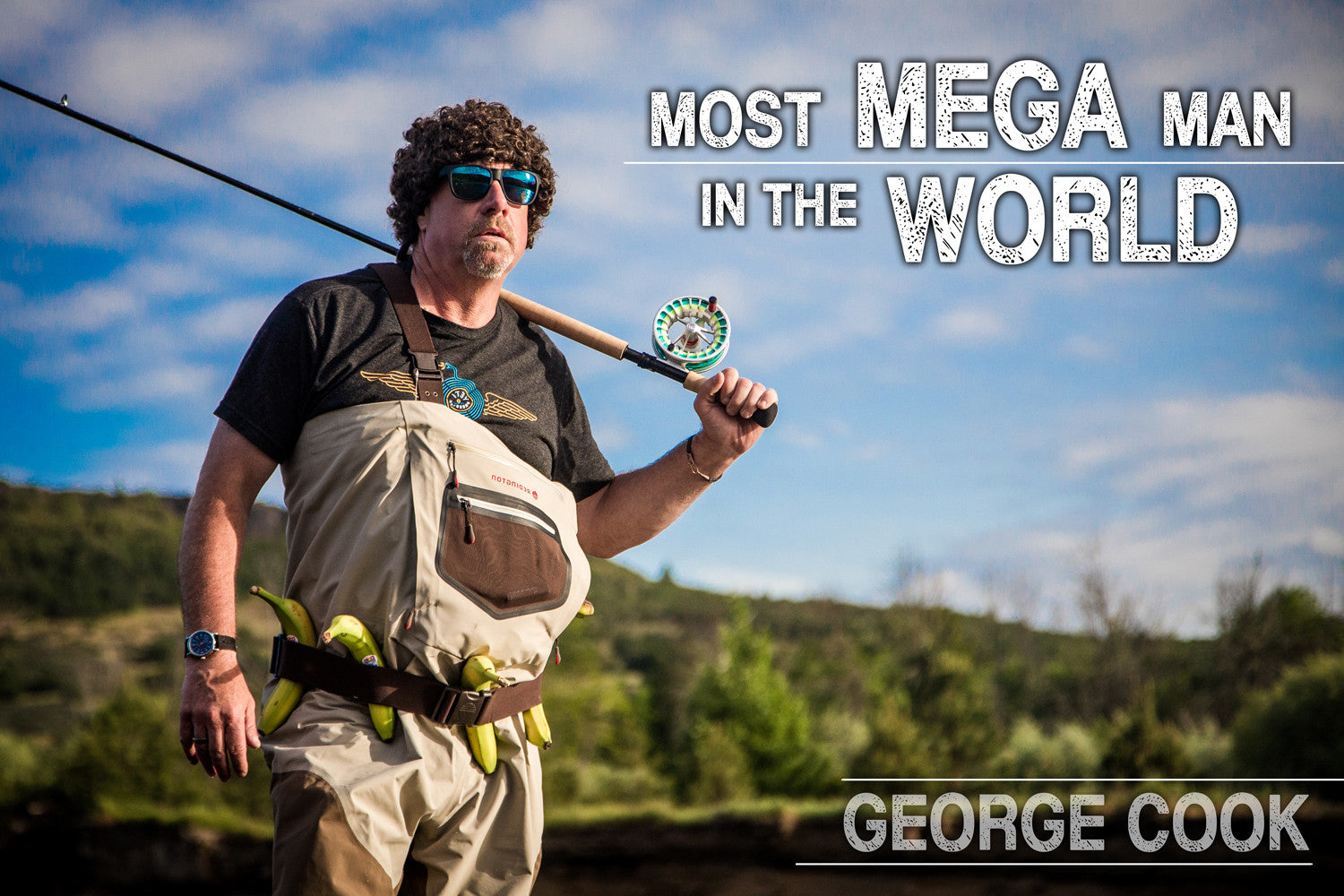 George Cook - Most Mega Man in the World