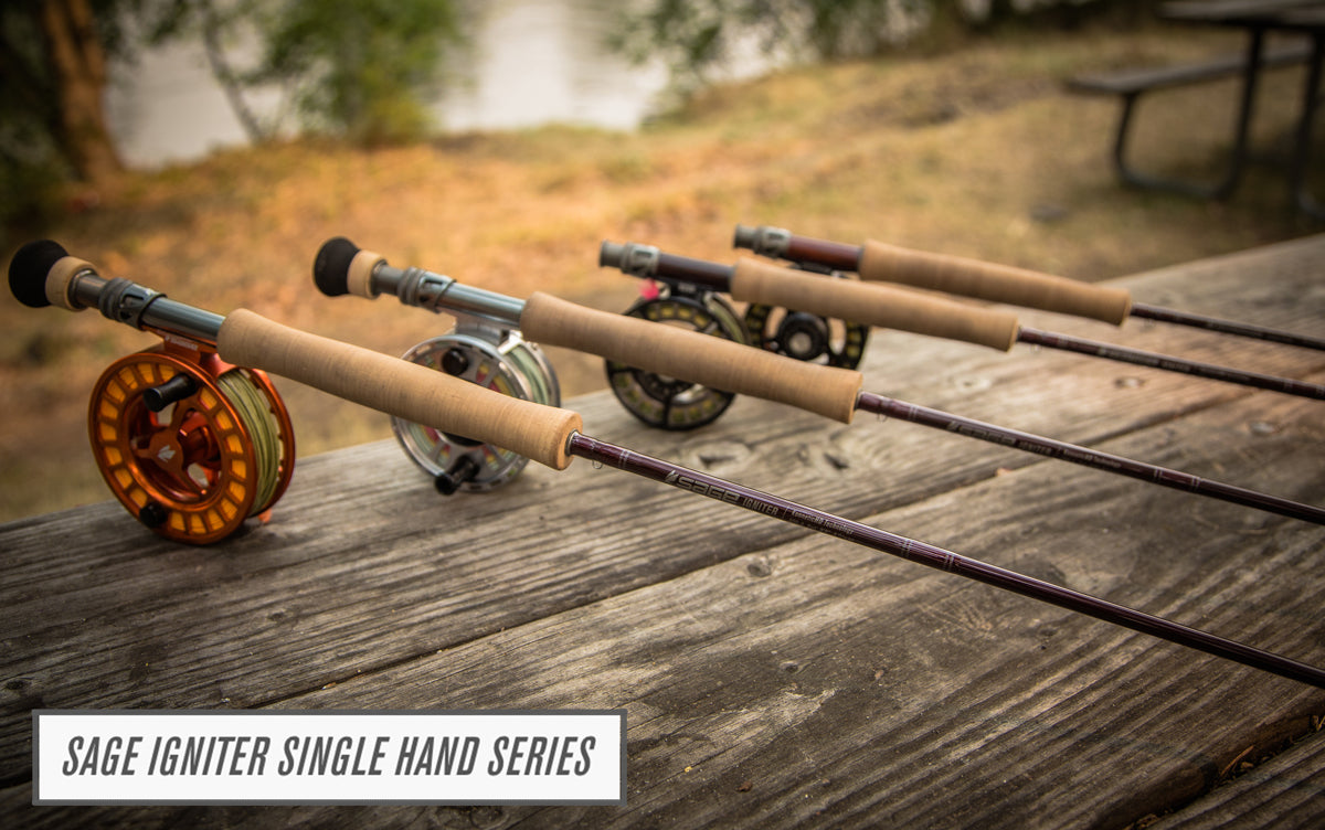 Sage Single Hand Igniter Series Preview with George Cook