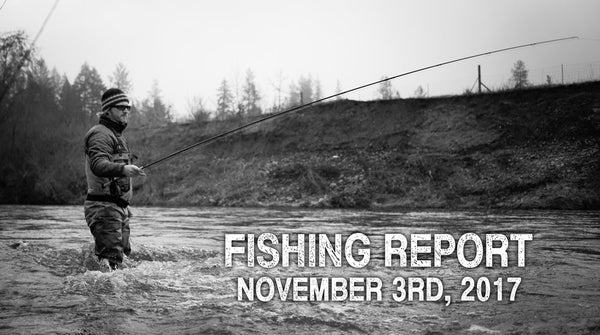 Fishing Report November 3rd, 2017