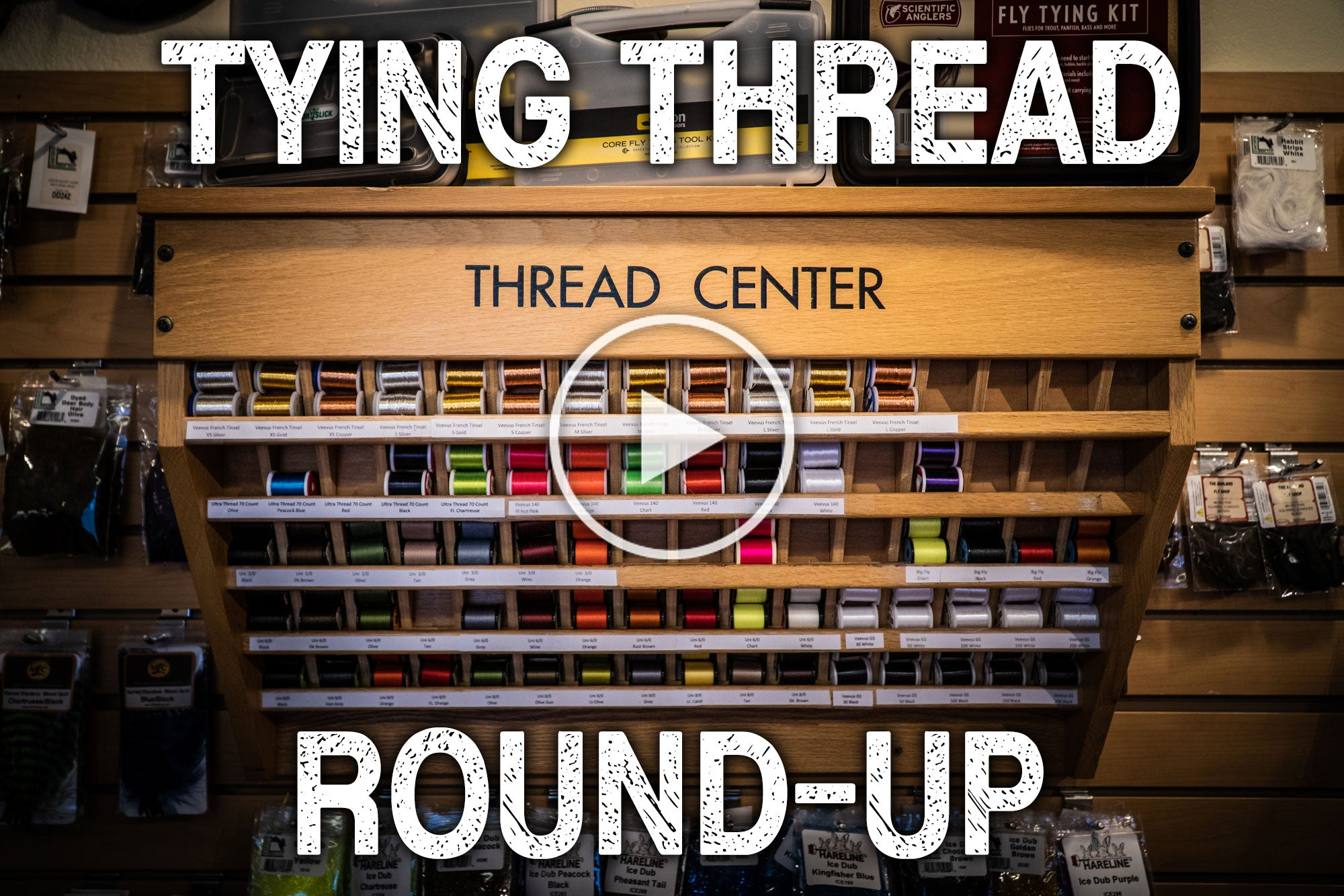 Fly Tying Thread Round Up