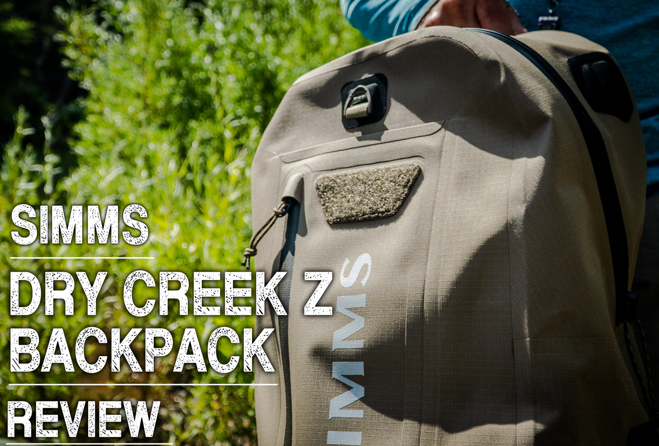 Simms Dry Creek Z Backpack Review
