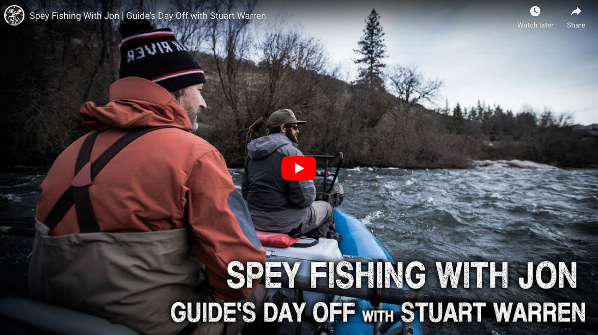 Spey Fishing With Jon | Guides Day Off Feat. Stuart Warren