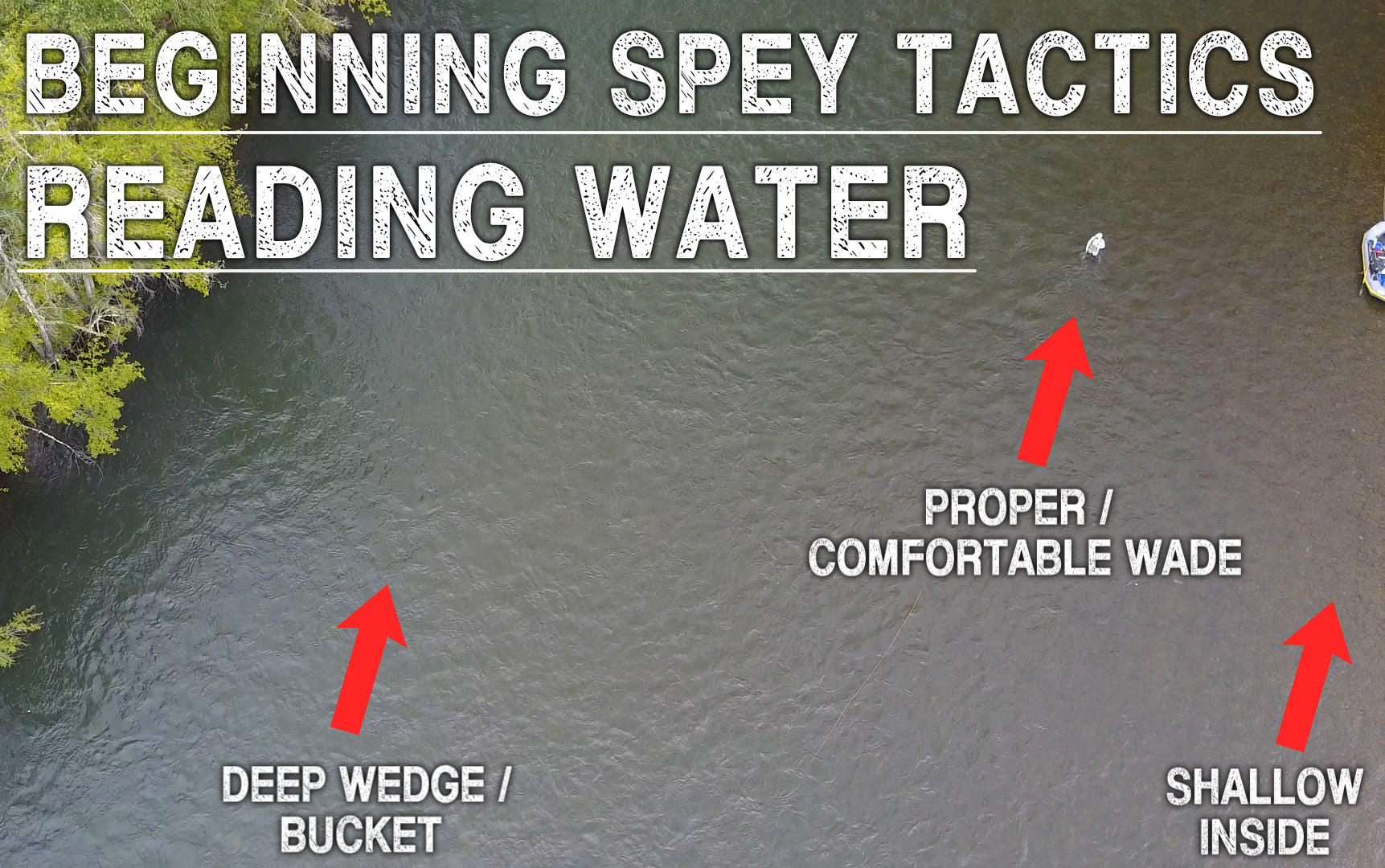 Reading Water | Beginning Spey Tactics