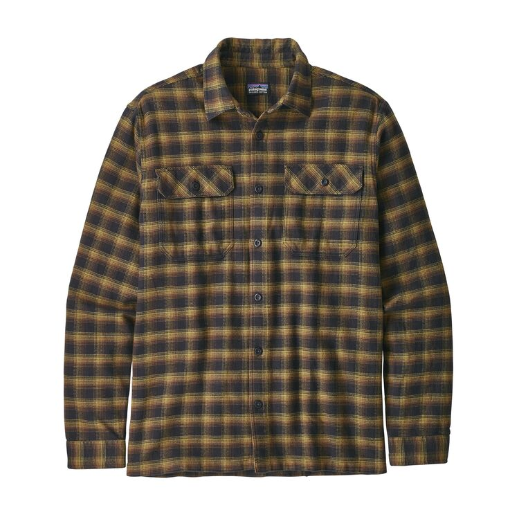 Patagonia Long-Sleeved Fjord Flannel Shirt