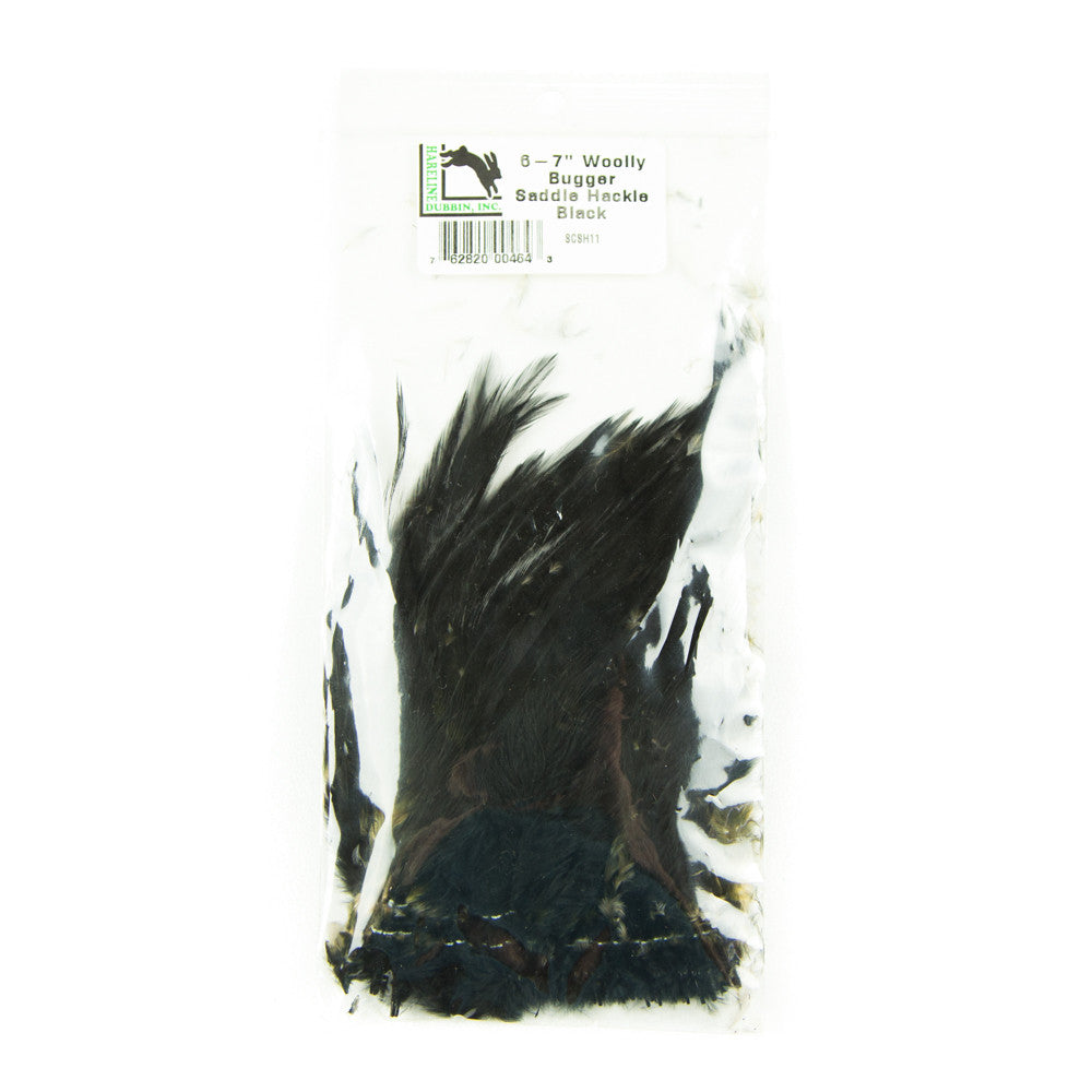 Woolly Bugger Saddle Hackle 6-7""