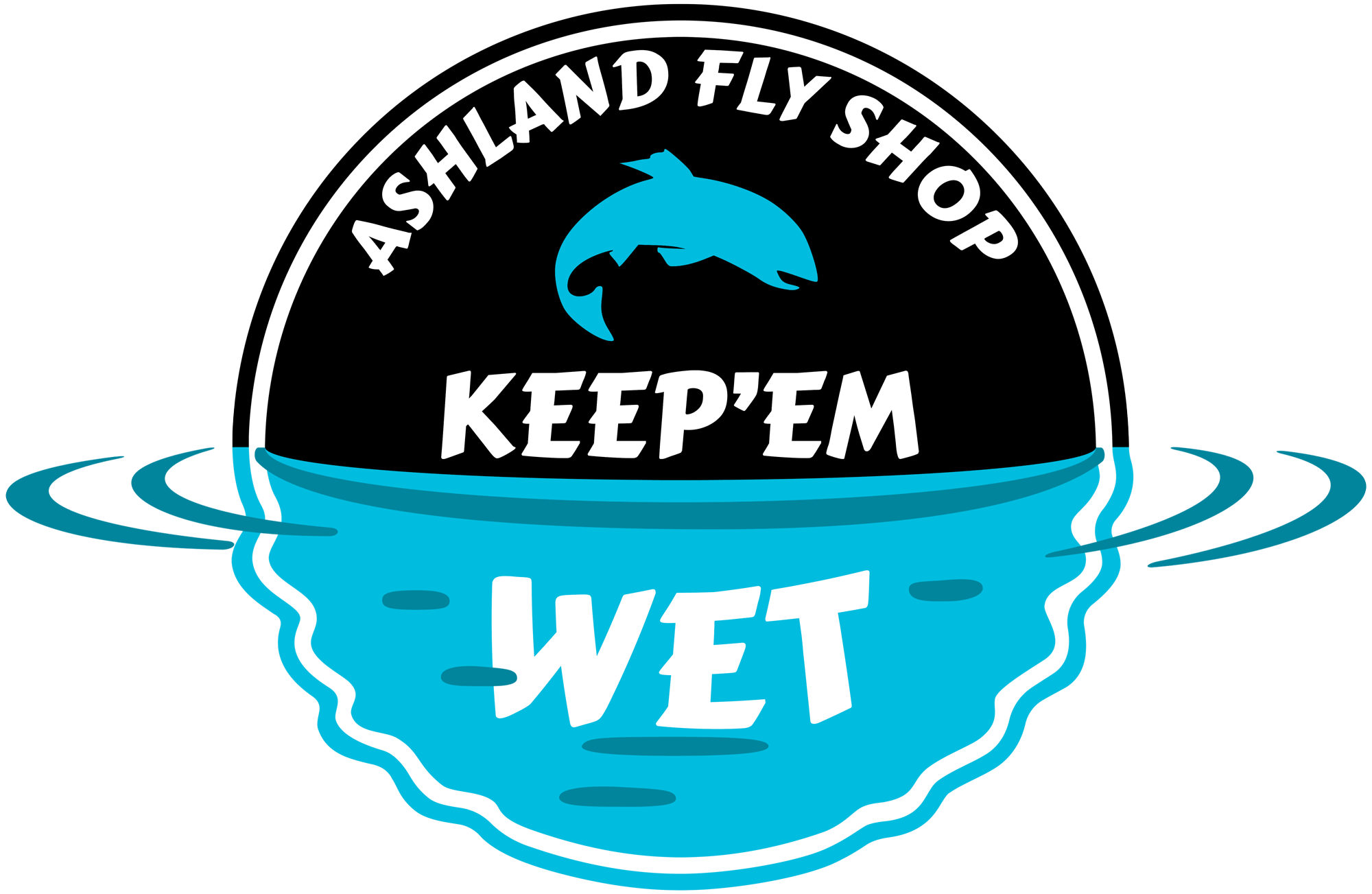 AFS Keep'em Wet Sticker