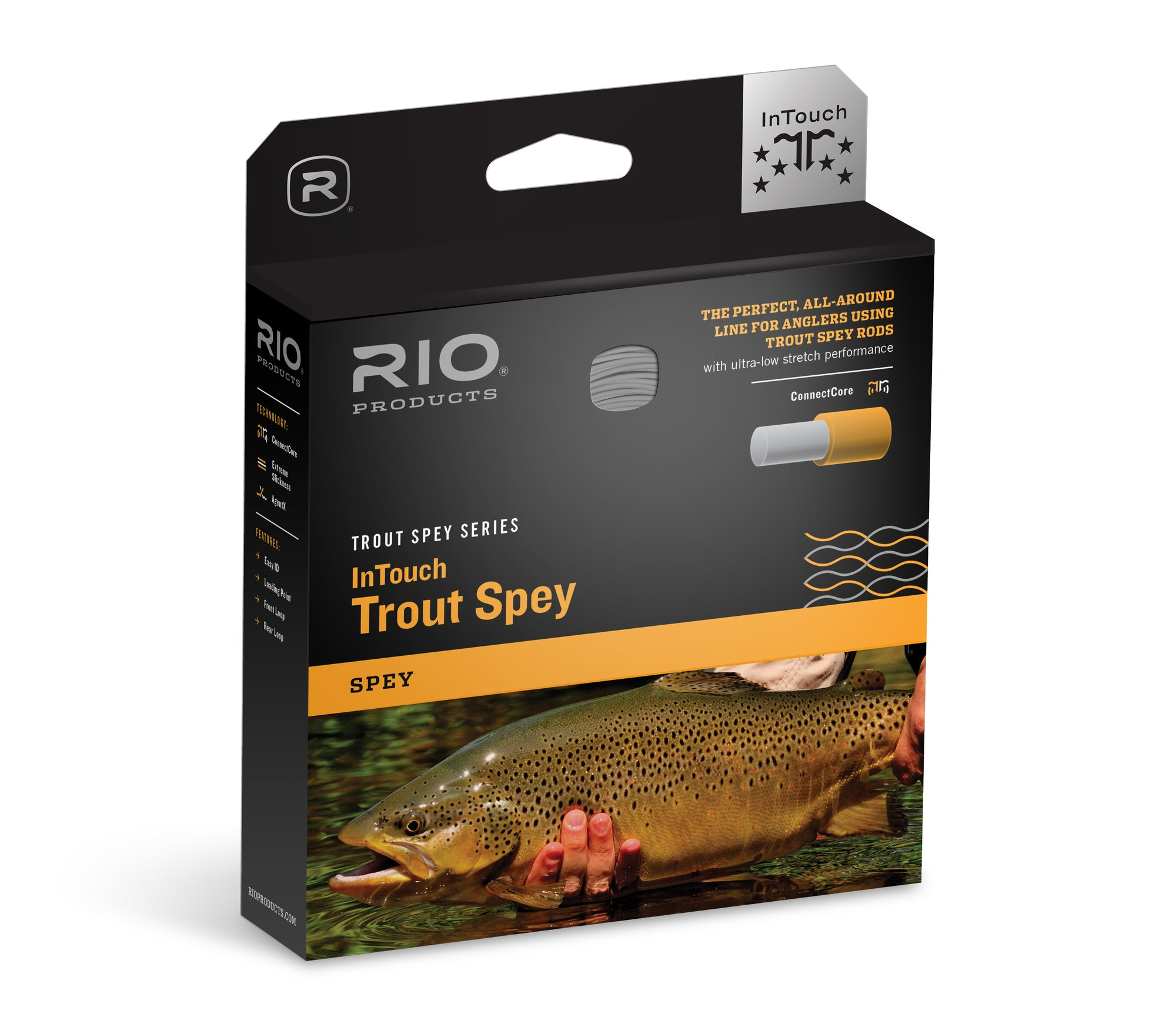 Rio Creek Fly Line W// 3 Pack Of Leaders Rio Fly Fishing Unique ...