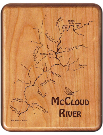 StoneFly Wooden Fly Boxes McCloud River