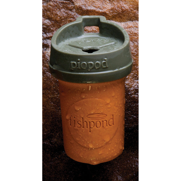 Fishpond Microtrash Piopod Container - Orange