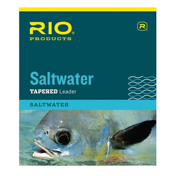 Rio Saltwater Tapered Leader 10ft