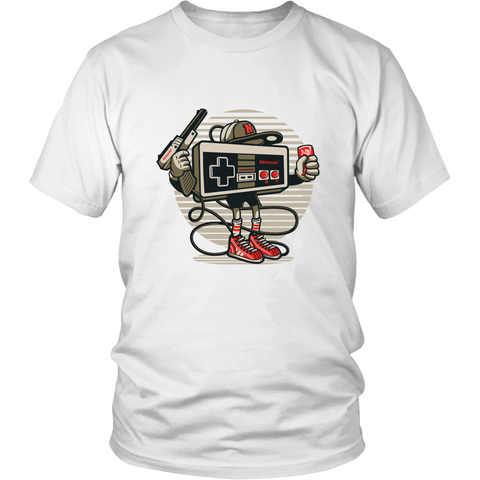 Let's Play! - bbuzz.me - District Unisex Shirt / White / S - 1