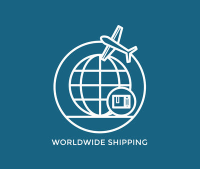 WE SHIP TO OVER 200 DIFFERENT COUNTRIES